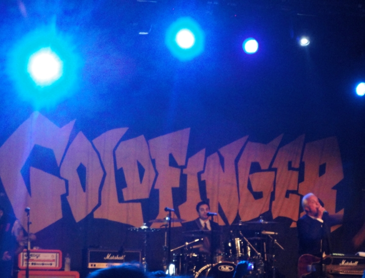 Goldfinger at UNSW Roundhouse