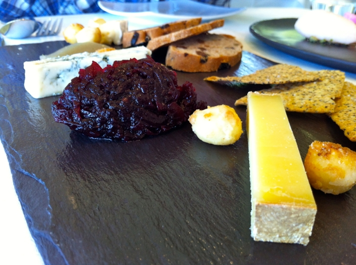 Jonah's Whale Beach cheese platter