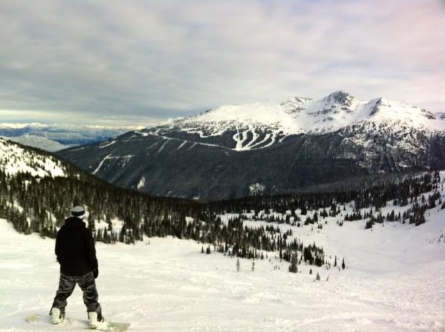 Whistler Blackcomb snowboard