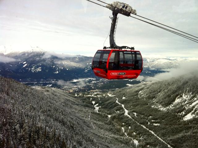 Whistler Blackcomb gondola