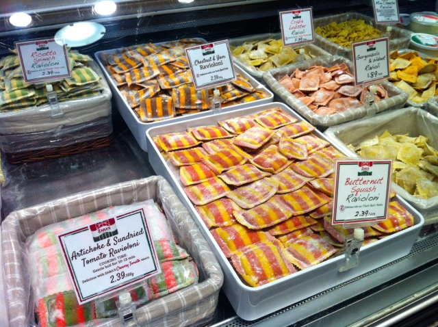 pasta Vancouver Granville Island markets