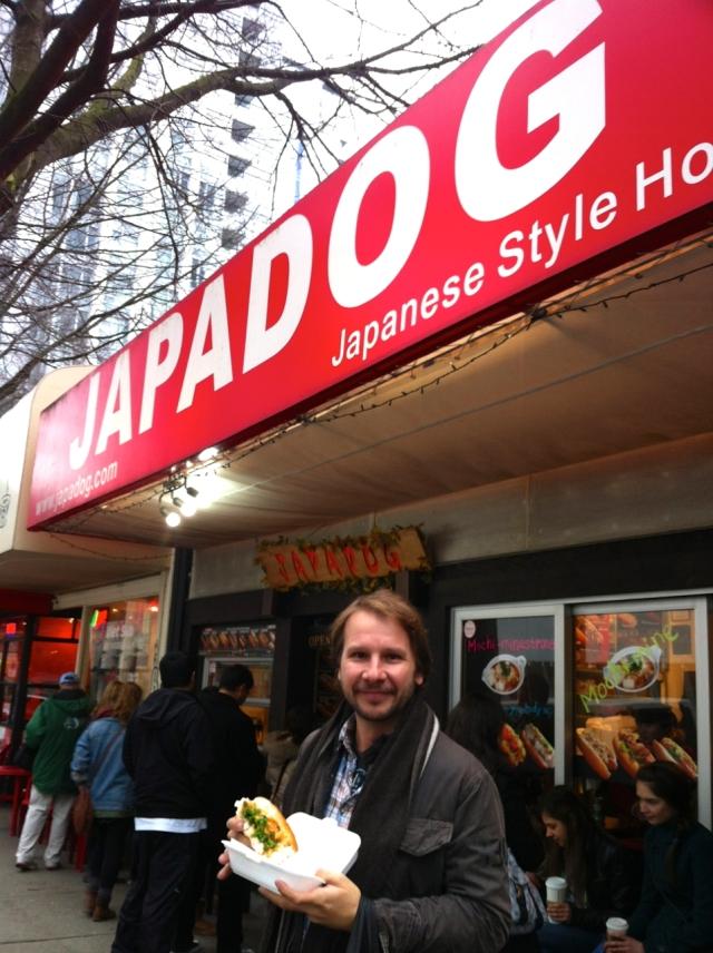Japadog Japanese hotdog Vancouver