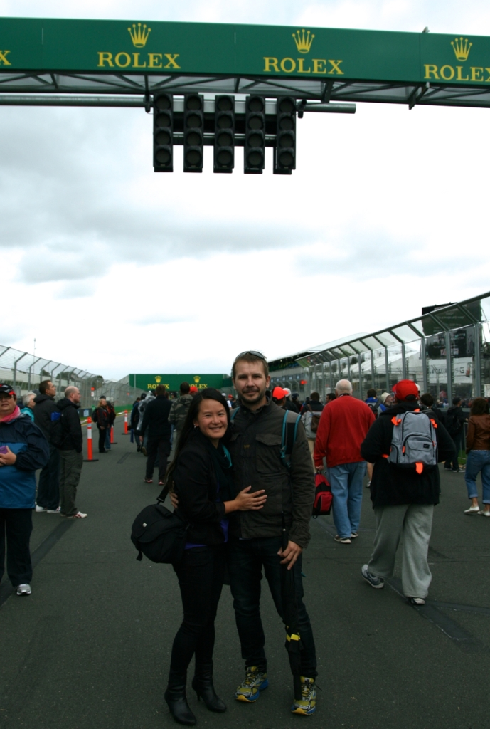 main straight walk australian f1 grand prix