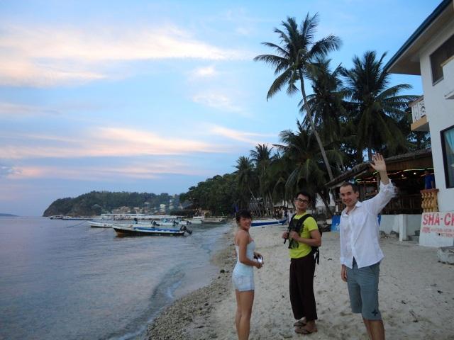la laguna beach sunset philippines