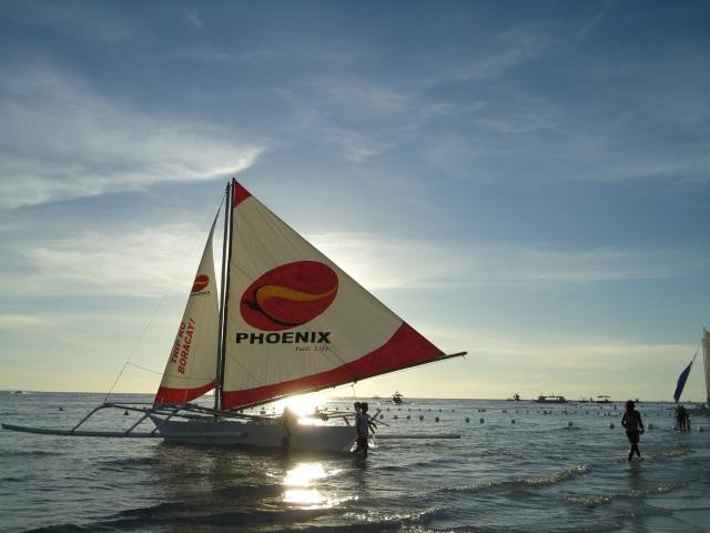 sailing boracay