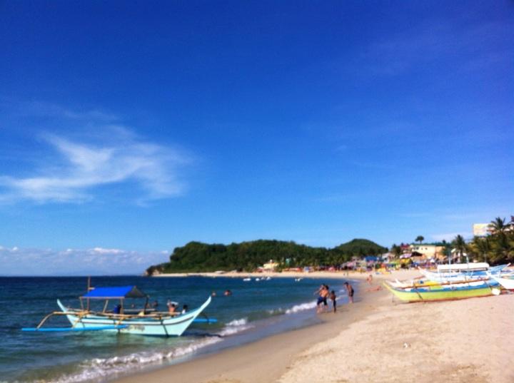 white beach puerto galera philippines