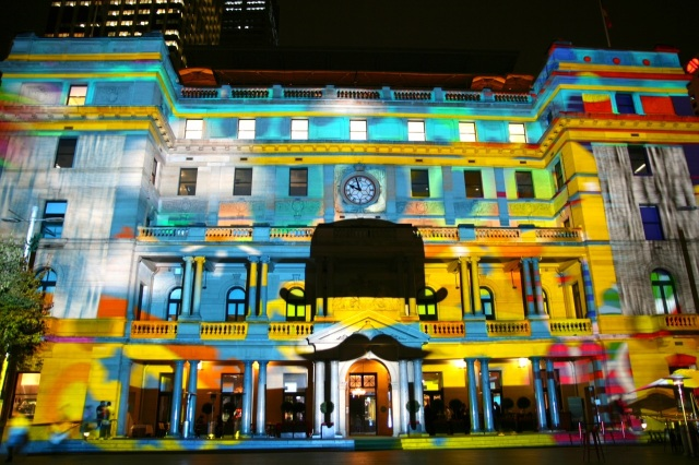 vivid sydney customs house