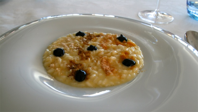 ormeggio at the spit risotto