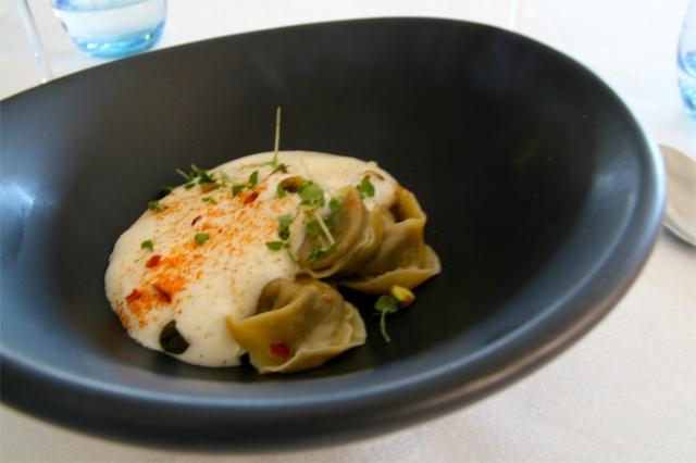 ormeggio at the spit tortelli