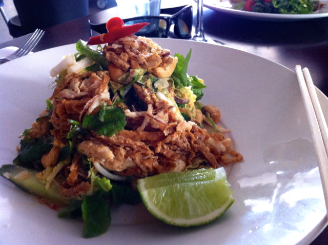 coconut chicken salad bistro c noosa