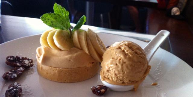 banana caramel tart bistro c noosa
