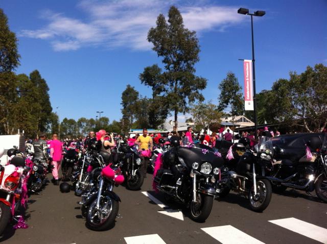 pink ribbon bikes