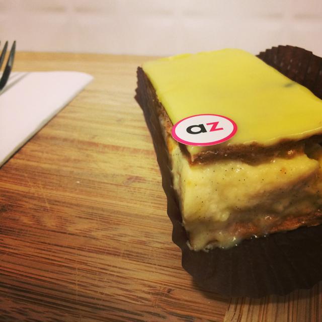 Adriano Zumbo Australia Day popup - vanilla slice