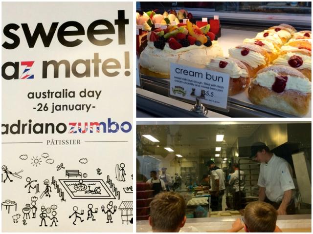 Zumbo Australia Day popup