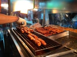 Sausage stall