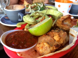 Reuben Hills really great fried chicken