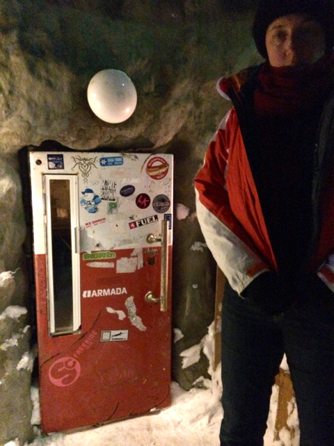 Fridge door bar Niseko