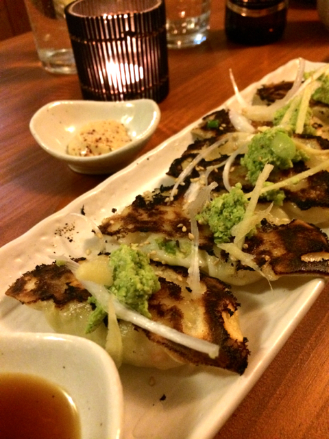Gyoza at Little Red Mimoji