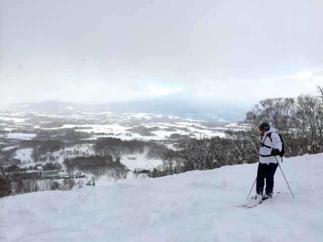 On the mountain at Niseko