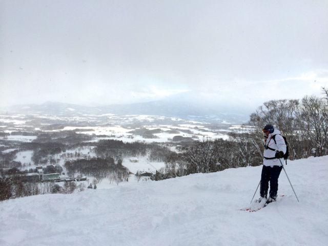 On the mountain at Niseko